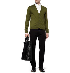 Givenchy Contrast-Back Cotton Cardigan