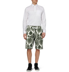 Givenchy Printed Loopback-Cotton Shorts