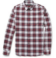 Givenchy - Slim-Fit Plaid Cotton Shirt