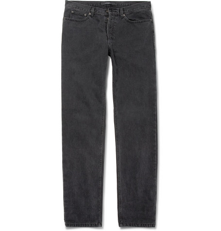 Givenchy Slim-Fit Washed-Denim Jeans