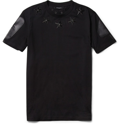 Givenchy Star-Detail Cotton-Jersey T-Shirt