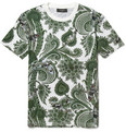 Givenchy - Paisley and Plane-Print Cotton T-Shirt