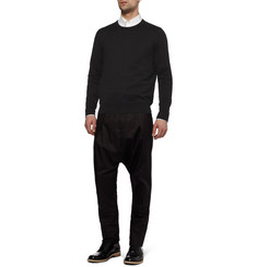 Givenchy Mesh-Back Cotton Sweater