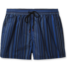 Paul Smith Shoes & Accessories Mid-Length Striped Swim Shorts