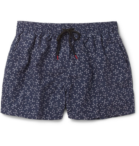 Paul Smith Shoes & Accessories Floral-Print Swim Shorts
