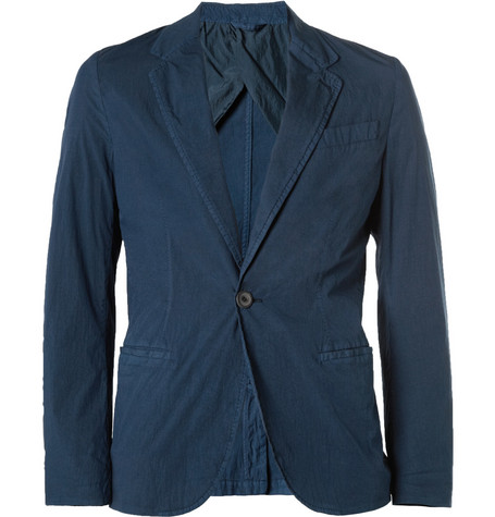 Lanvin Slim-Fit Lightweight Cotton-Blend Blazer