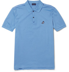 Lanvin Cotton-Piqué Polo Shirt