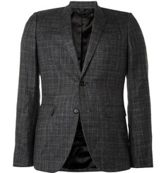 Burberry Prorsum Grey Wool, Silk and Linen-Blend Suit Jacket