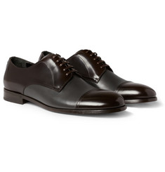 Dolce & Gabbana Two-Tone Leather Derby Shoes