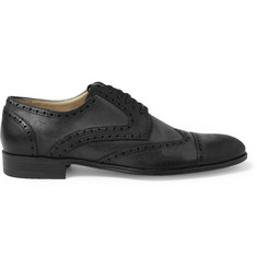 Dolce & Gabbana Burnished-Leather Brogues