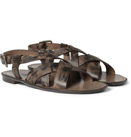 Dolce & Gabbana Leather Sandals