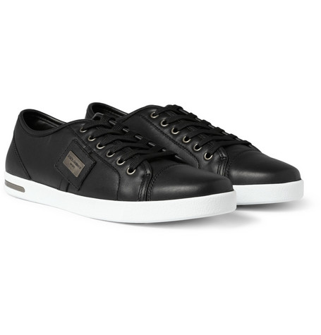 Dolce & Gabbana Low Top Leather Sneakers