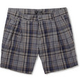 Dolce & Gabbana - Plaid Cotton-Blend Shorts
