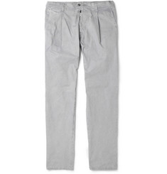 Dolce & Gabbana Slim-Fit Brushed-Cotton Trousers