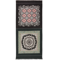 Dolce & Gabbana Printed Modal and Cotton-Blend Scarf