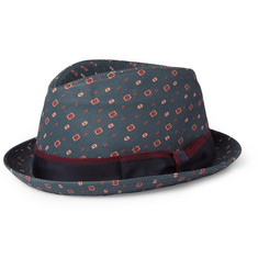 Dolce & Gabbana Printed Cotton and Silk-Blend Fedora