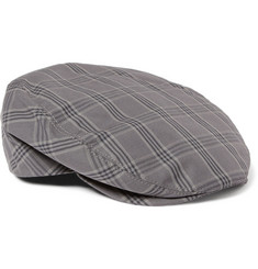 Dolce & Gabbana Check Cotton Flat Cap