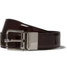 Dolce & Gabbana Reversible Leather Belt