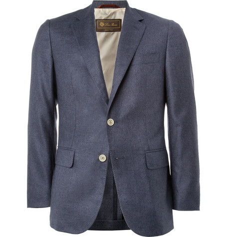 Loro Piana Silk and Cashmere-Blend Blazer