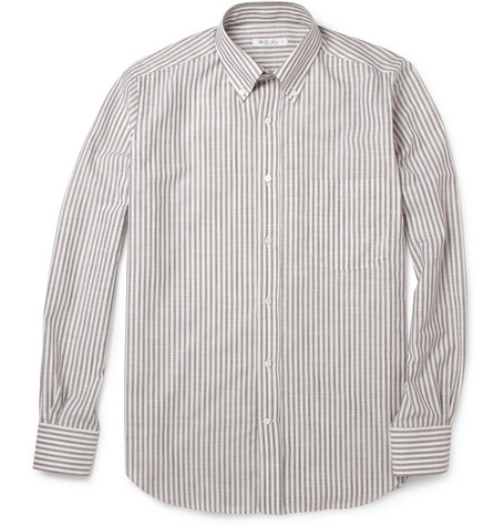 Loro Piana Bengal Stripe Cotton Shirt