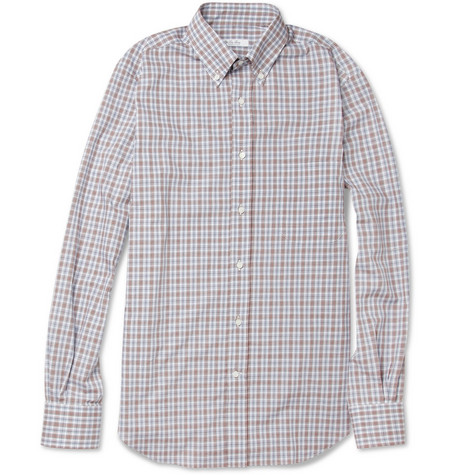 Loro Piana Check Cotton Shirt