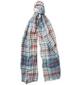 Loro Piana - Lightweight Plaid Cashmere Scarf