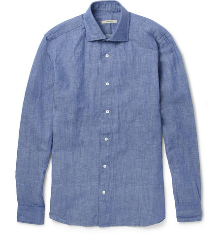 Boglioli Cotton-Chambray Shirt