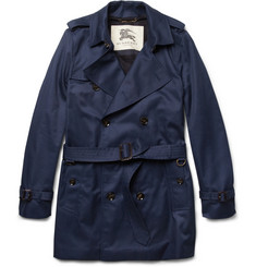 Burberry London Double-Breasted Twill Trench Coat