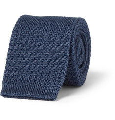 Burberry London Knitted Cotton Tie