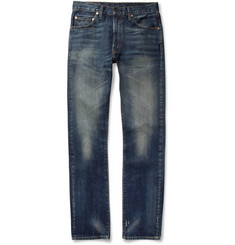 Levi's Vintage Clothing 1967 505 Straight-Leg Washed Selvedge Denim Jeans