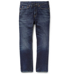 Levi's Vintage Clothing 1954 501Z Straight-Leg Washed Selvedge Denim Jeans