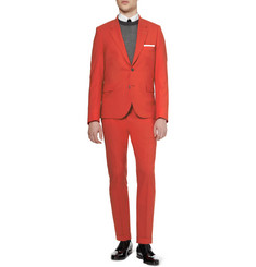 Paul Smith Red Slim-Fit Wool Suit