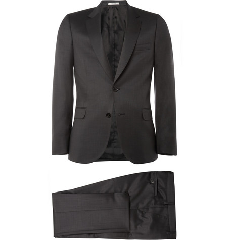 Paul Smith Grey Slim-Fit Wool and Cashmere-Blend Suit