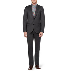 Paul Smith Dark Grey Slim-Fit Wool and Cashmere-Blend Suit