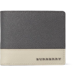 Burberry Shoes & Accessories Cross-Grain Leather Billfold Wallet