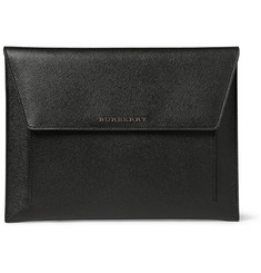 Burberry Shoes & Accessories Textured-Leather iPad Case
