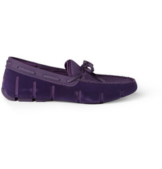 SWIMS Rubber and Mesh Boat Shoes