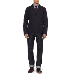 Burberry Brit Unstructured Cotton Blazer