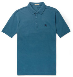 Burberry Brit Cotton-Piqué Polo Shirt