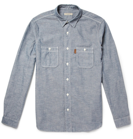 Burberry Brit Slub Chambray Shirt