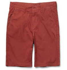 Burberry Brit Cotton-Twill Shorts