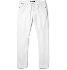 Slowear Incotex Slim-Fit Brushed Cotton-Blend Jeans
