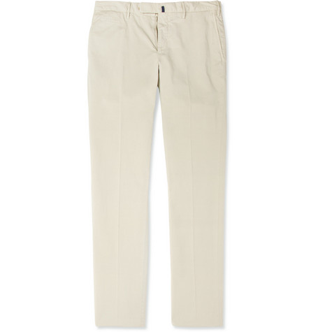Slowear Incotex Skinny-Fit Cotton-Blend Chinos