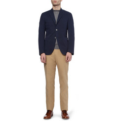 Slowear Incotex Lightweight Cotton and Linen-Blend Trousers