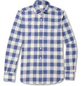 Incotex Glanshirt Slim-Fit Check Cotton Shirt