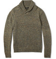 Rag & bone - Holst Flecked Shawl-Collar Sweater