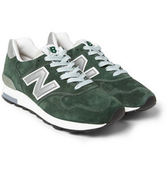 New Balance 1400 Suede Sneakers
