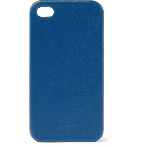 J.Crew Leather-Covered iPhone 4 Case
