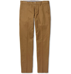 J.Crew Bowery Slim-Fit Cotton Trousers