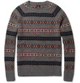 J.Crew Fair Isle Lambswool Sweater